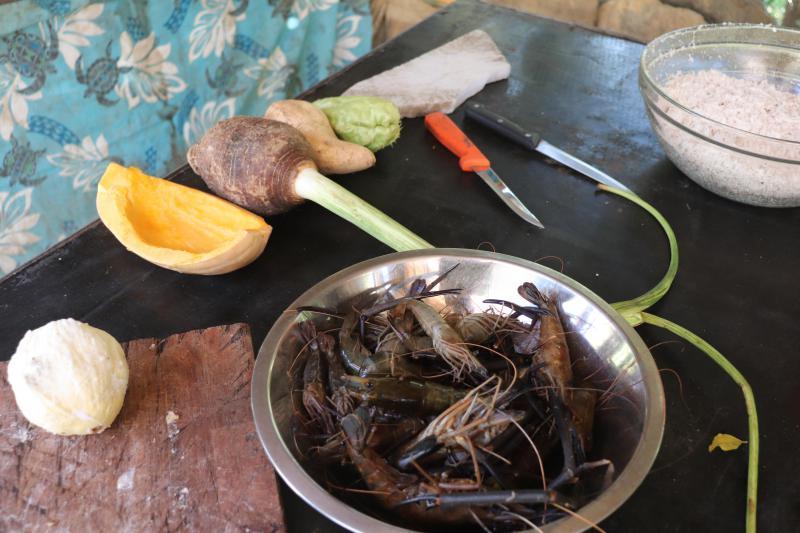 Pêche à la crevette - Chez Liline