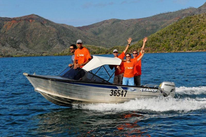 Excursion en bateau sur la baie de Canala