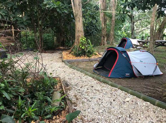 Camping de Green Farm