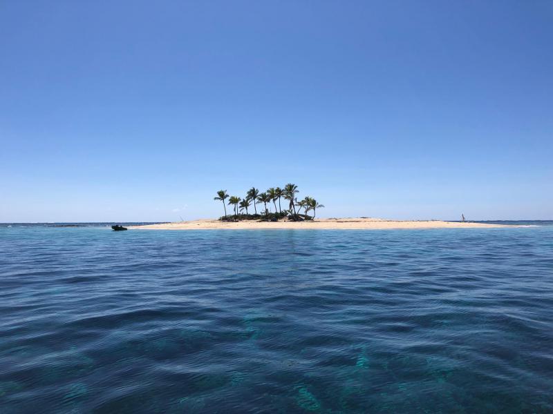 Excursion en mer sur les îlots de Ponérihouen